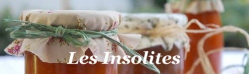 "Konfitüren ""Les Insolites"""