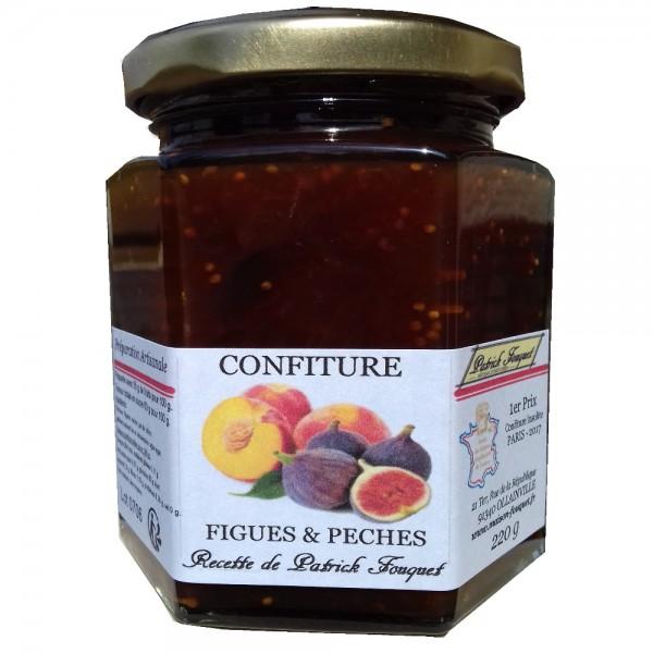 Marmelade von feigen und pfirsichen - Confiture d abricots maison ...